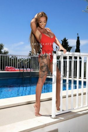 Franka escort girl in Bedford Indiana